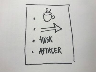 Faciliter dine møder ved hjælp af grafiske tegninger